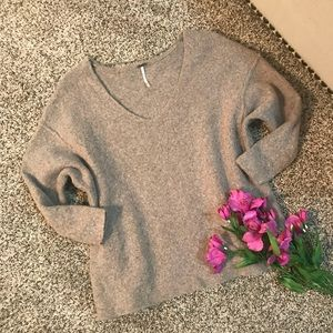 Free People Yak and Wool Sweater
